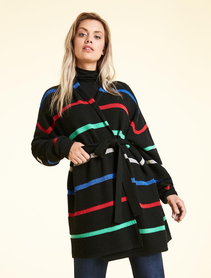 Soft wool-blend cardigan