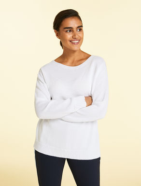 Pure cotton sweater