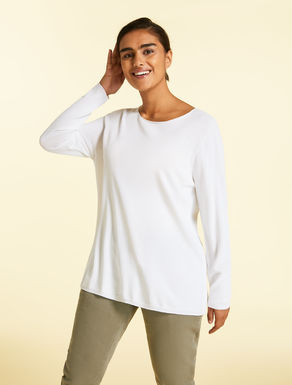 Crêpe viscose sweater