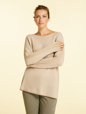 Sweater in makò cotton