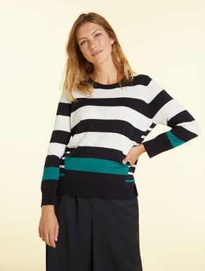 Flowy viscose jumper