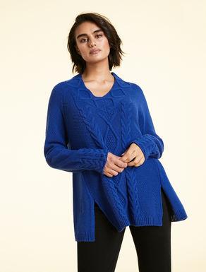 Soft wool blend sweater