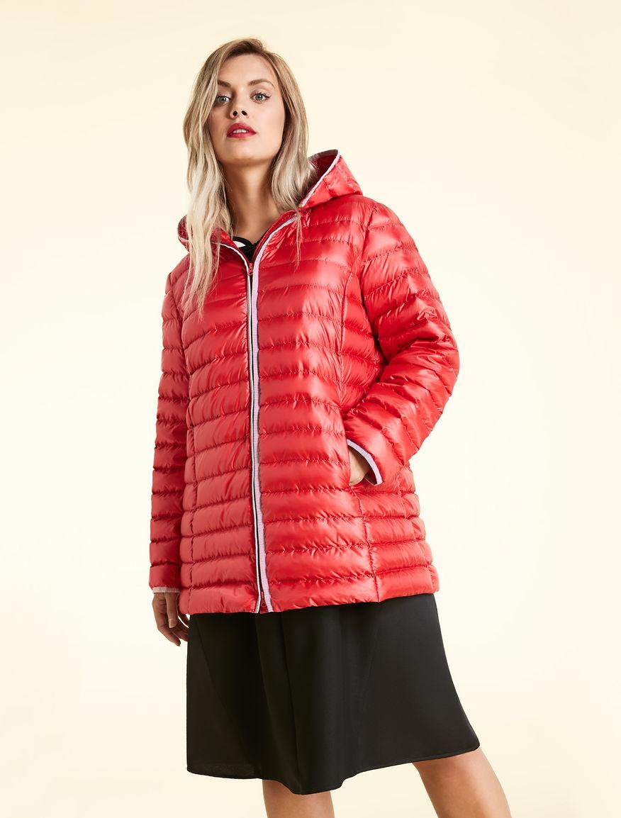 Water-repellent nylon down jacket