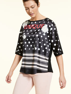 Camiseta de punto con estampación