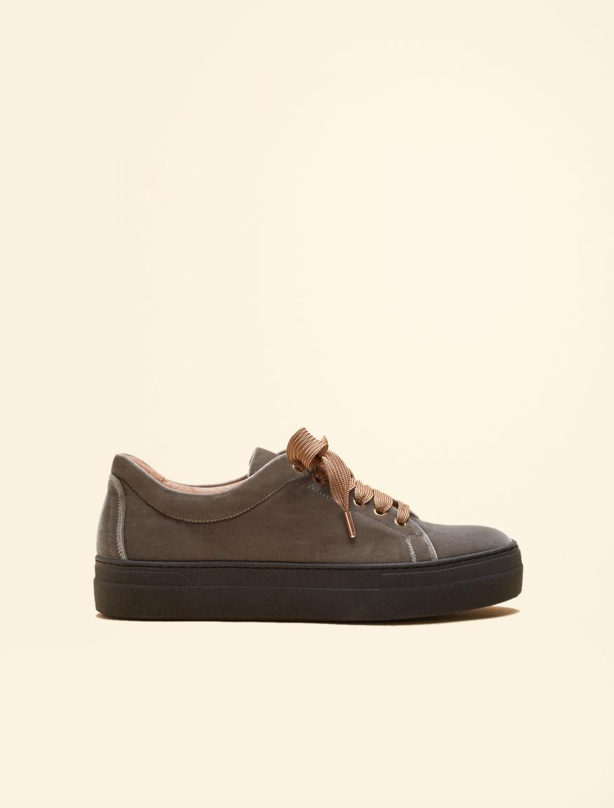 Sneakers in velluto