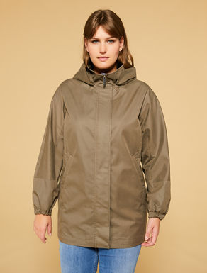 Blended cotton parka