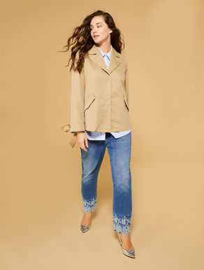 Mixed cotton jacket