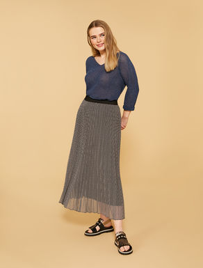 Long georgette skirt