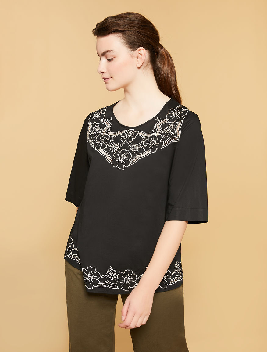 Light-weight poplin tunic
