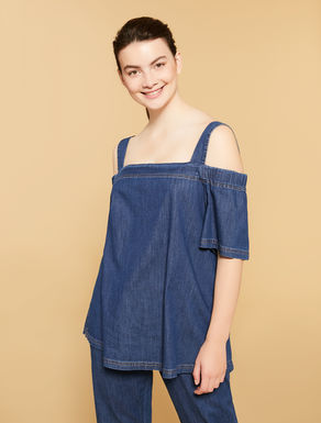 Lightweight denim tunic