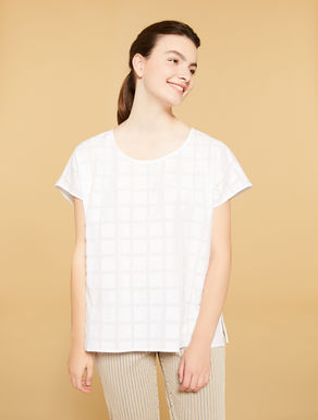 Fil coupé cotton tunic