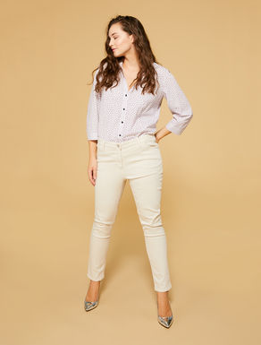 Pantalon Perfect en tissu stretch