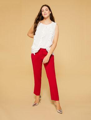 Pantalon en tissu fluide
