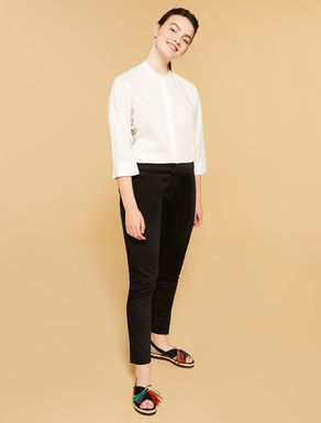 Comfort-Fit-Hose aus Baumwolle
