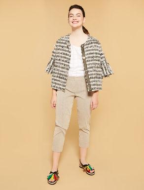 Pantalon capri coupe slim