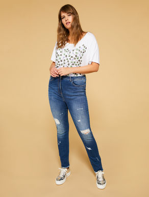 Shaping Fit Jeans aus Stretch-Denim