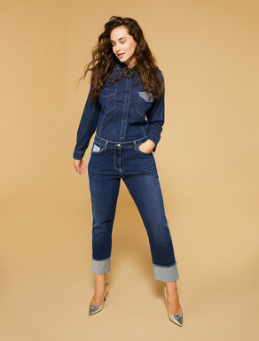 Slim Fit Jeans aus Stretch-Denim
