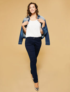 Lightweight denim, shaping fit jeans