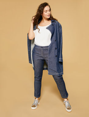 Jean en gabardine de denim stretch