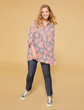 Cotton muslin blouse