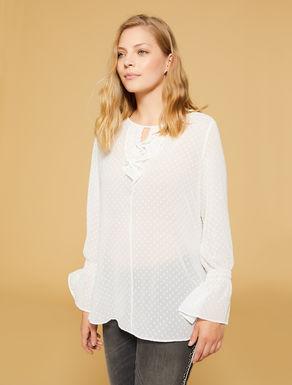 Fil coupé georgette blouse