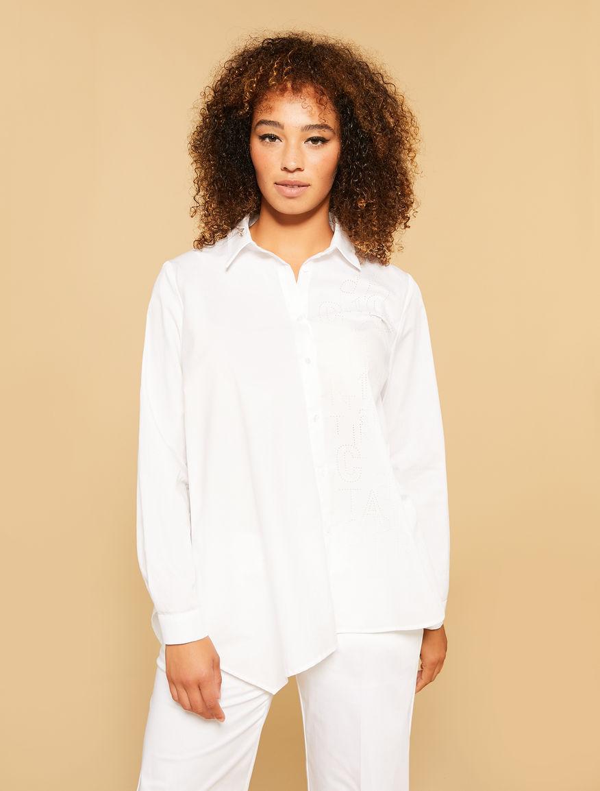 Soft cotton poplin blouse