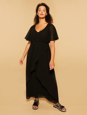Long georgette dress