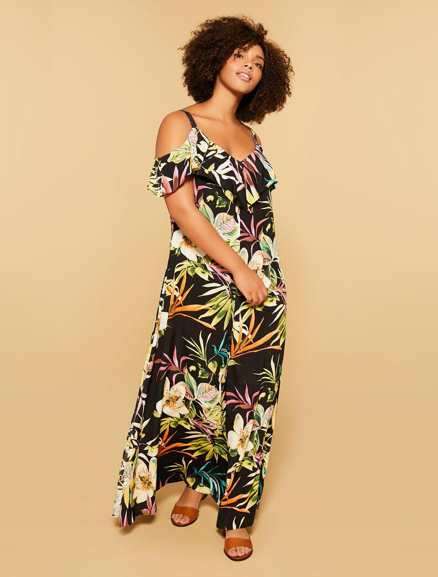 Langes Marocaine-Kleid