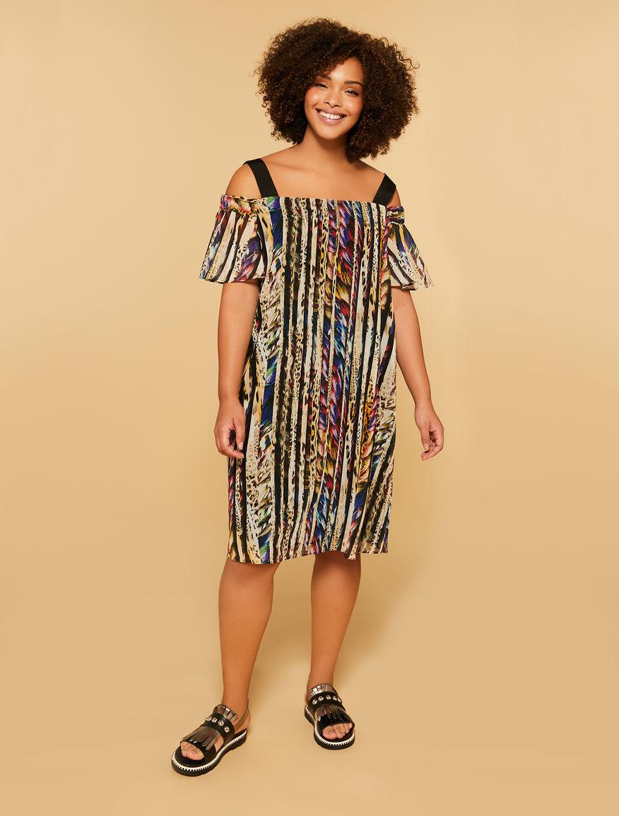 Georgette-Kleid aus Georgette