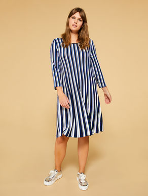 Stretch viscose dress