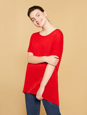 Flowing viscose sweater