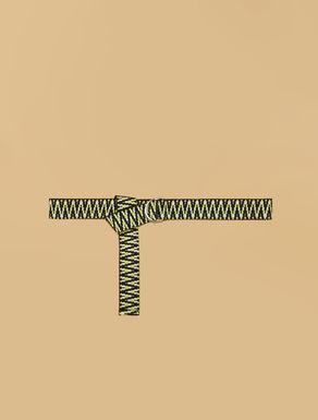 Cintura in fettuccia