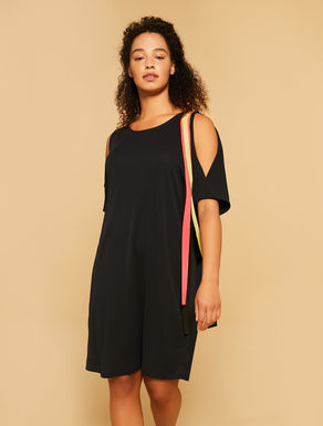 Interlock dress