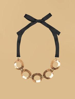 Lichtpunkt-Halskette mit Ringen