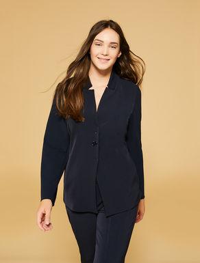 Scuba crêpe jacket