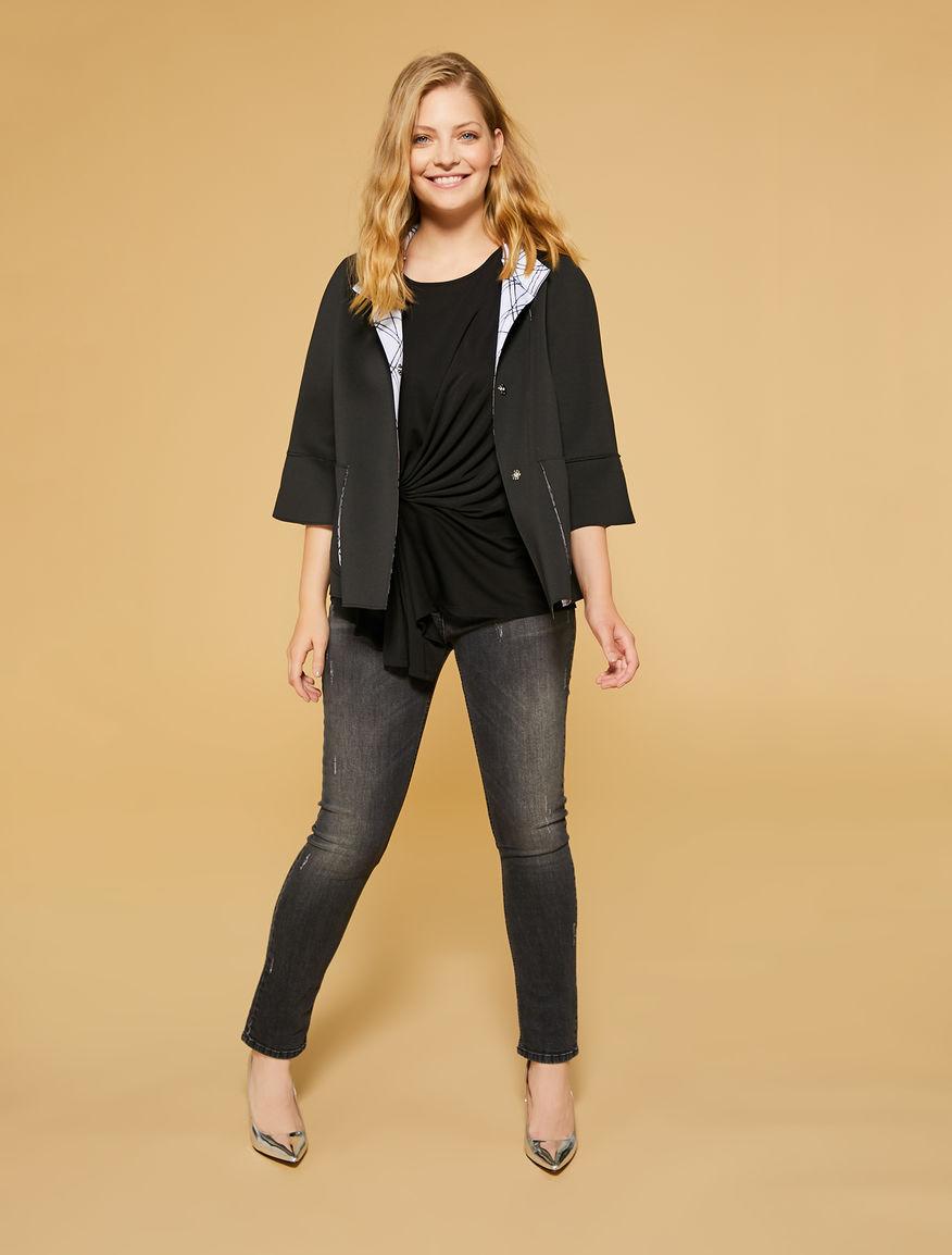 Scuba Jacket Black Reversible Marina Oslo Rinaldi 1dFqwfx0