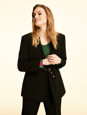 Triacetate blazer
