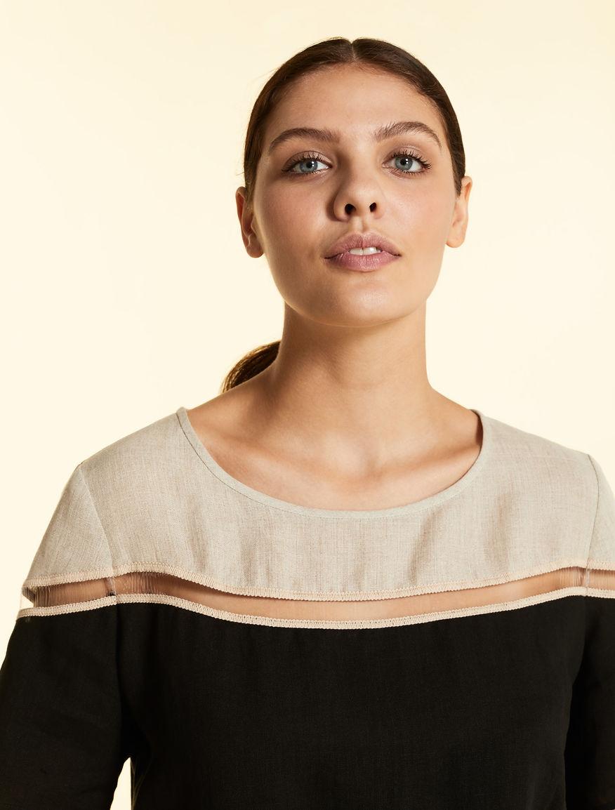 5f84c12eb2d8 Pure linen tunic, colonial -