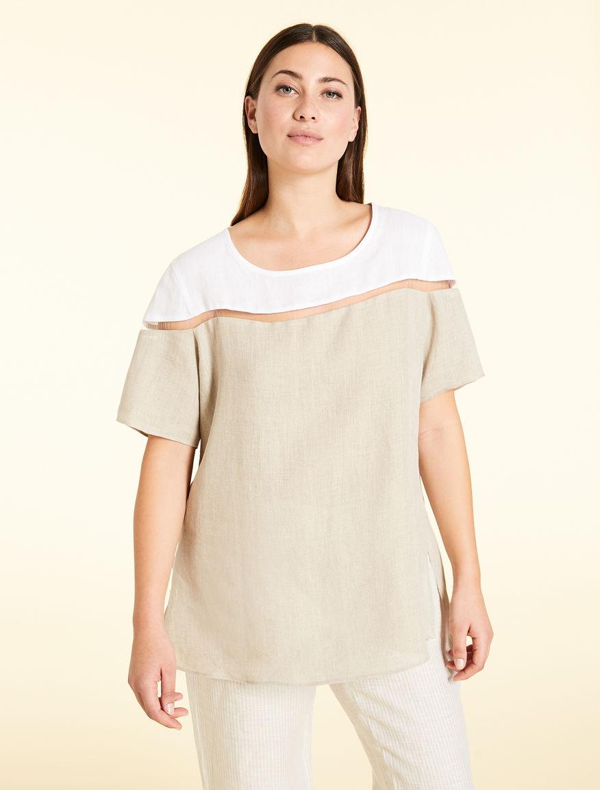 e58acb373719 Pure linen tunic, white -