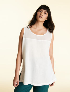 Lightweight linen top