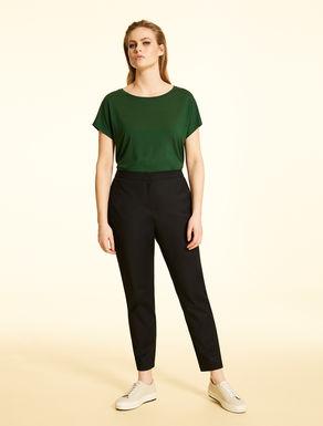 Pantalon en coton et nylon