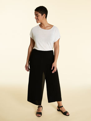 Trousers in light triacetate