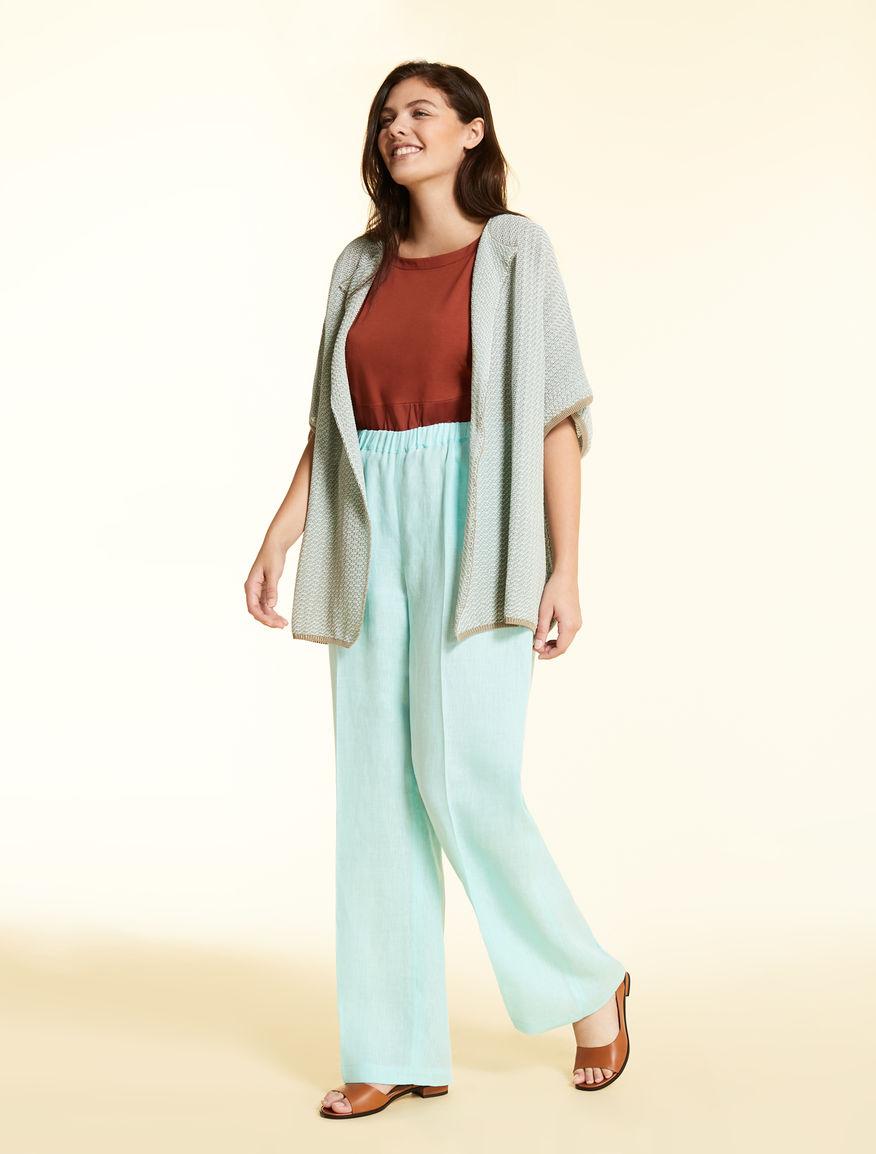 Light linen trousers