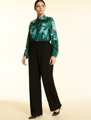 Fluid viscose trousers