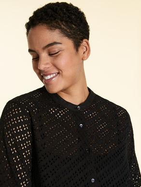 Sangallo lace shirt