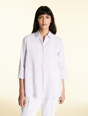 Yarn-dyed, pure linen tunic