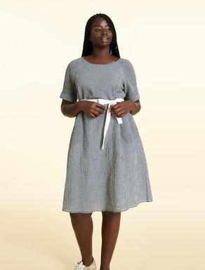 Robe en coton Vichy