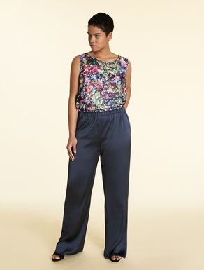 Envers satin trousers