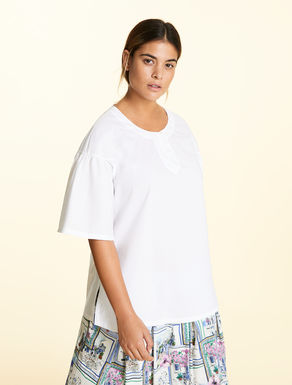 Tunic in soft cotton poplin