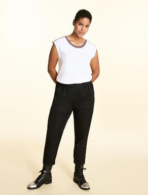 Pantalon en lin Tencel